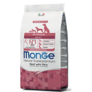 Monge Dog MONOPROTEIN Speciality line All Breeds Adult marha-rizs 2,5kg, 12kg, 15kg