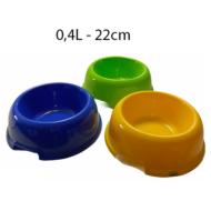 483,32 Műanyag kutya és macska tál 0,4l/22cm